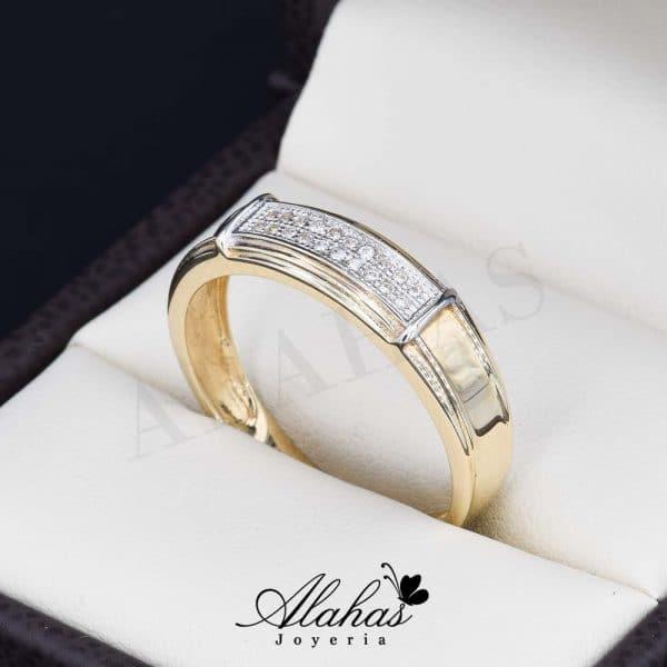 Alianza de boda oro 14k ao-017