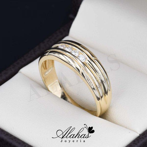 Alianza de boda oro 14k ao-018