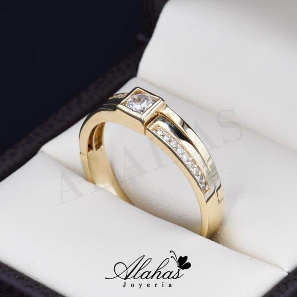Alianza de boda oro 14k ao-019