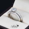 Duo de boda en plata 925 abpd-006