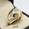 Anillo de oro 14k con zirconias ANO-005