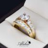 Duo de boda oro 14k DO-022