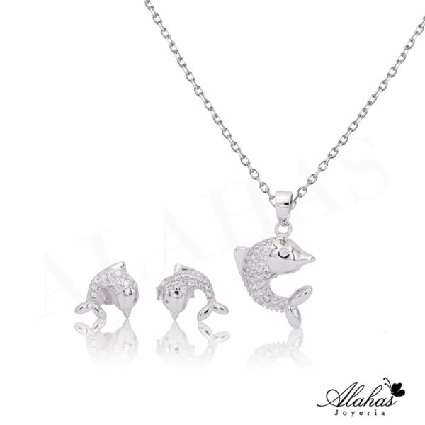 Set en plata 925 con zirconias SP-001