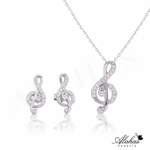 Set en plata 925 con zirconias SP-002