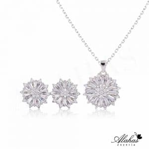 Set en plata 925 con zirconias SP-003