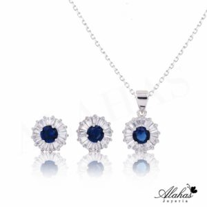 Set en plata 925 con zirconias SP-004