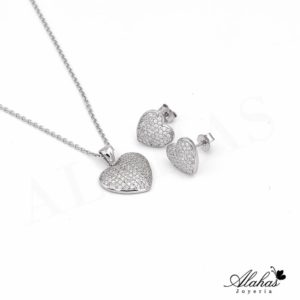 Set en plata 925 con zirconias SP-005