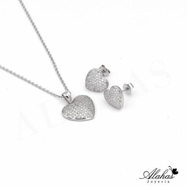 Set en plata 925 con zirconias SP-005