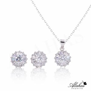 Set en plata 925 con zirconias SP-006
