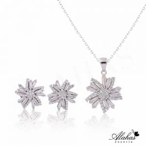 Set en plata 925 con zirconias SP-008