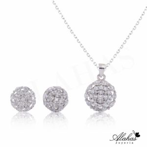 Set en plata 925 con zirconias SP-010
