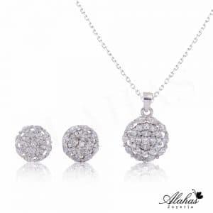 Set en plata 925 con zirconias SP-010