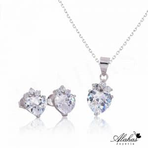 Set en plata 925 con zirconias SP-011