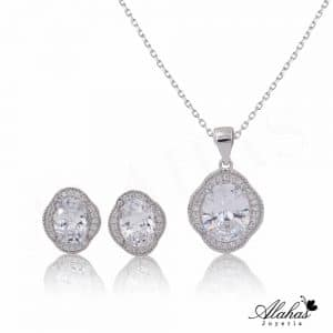 Set en plata 925 con zirconias SP-012