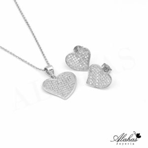 Set en plata 925 con zirconias SP-014