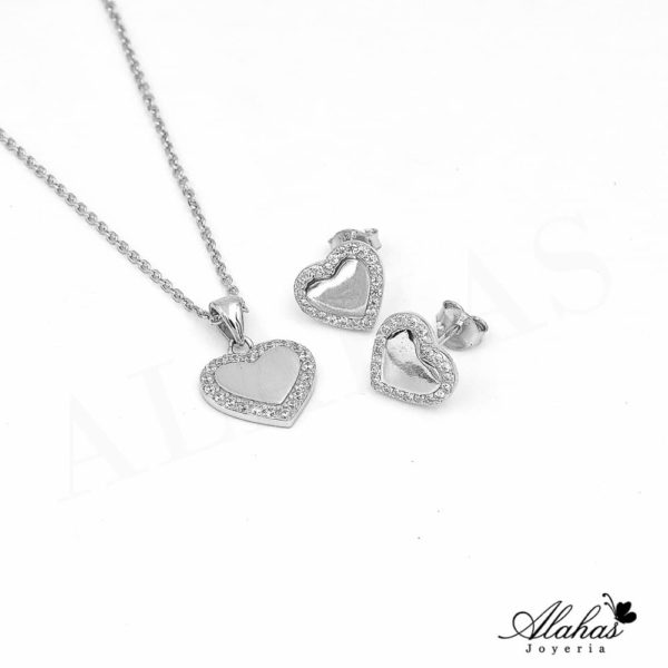 Set en plata 925 con zirconias SP-015