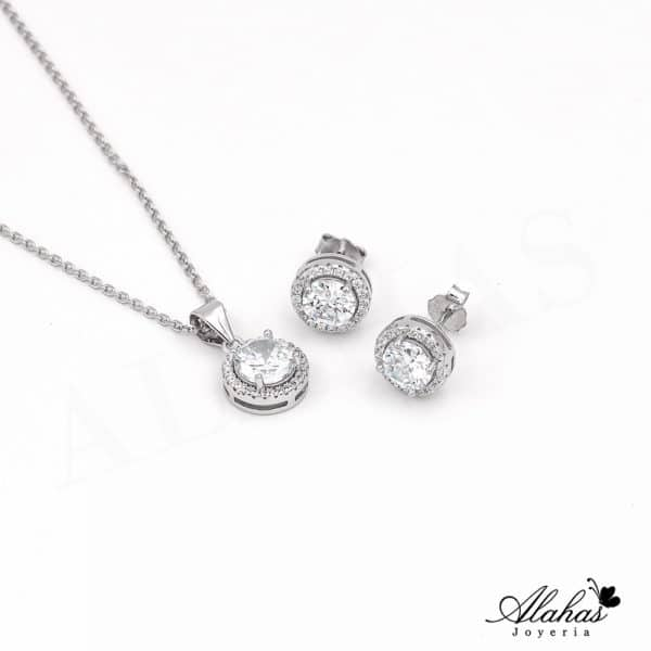 Set en plata 925 con zirconias SP-017