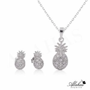 Set en plata 925 con zirconias SP-018