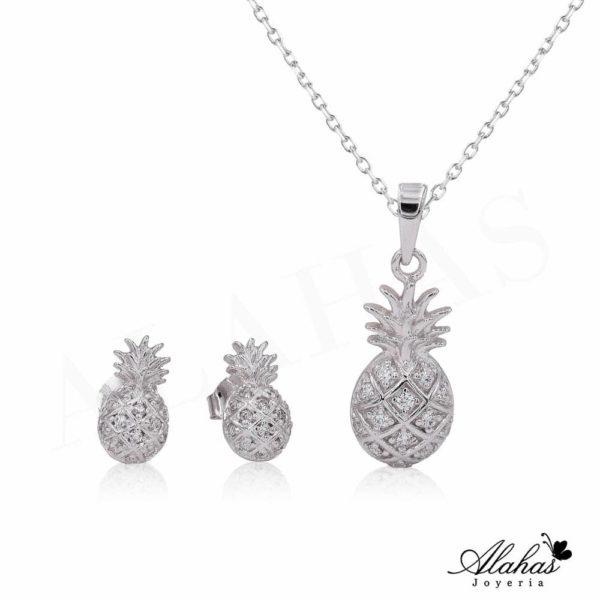 Set en plata 925 con zirconias SP-018