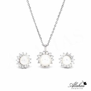 Set en plata 925 con zirconias SP-021