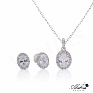 Set en plata 925 con zirconias SP-022