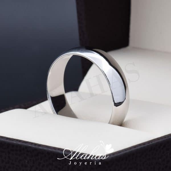 Alianza de boda oro 14k 6mm AO-010