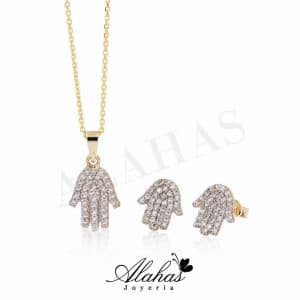 Set en oro 14k SO-002