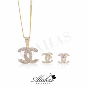 Set en oro 14k SO-006
