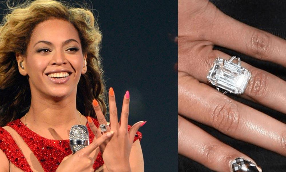 Anillo de compromiso Beyonce