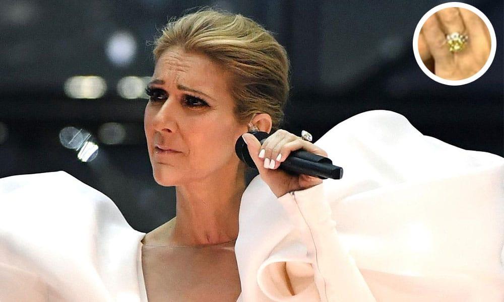 Anillo de Compromiso de Celine Dion