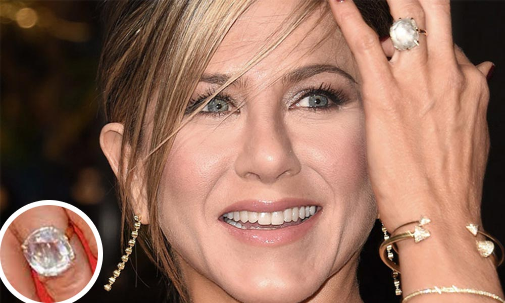 Anillo de compromiso de Jennifer Aniston