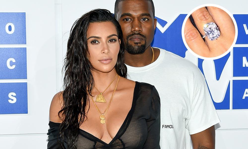 Anillo de compromiso Kim Kardashian