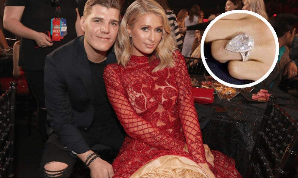 Anillo de compromiso Paris Hilton