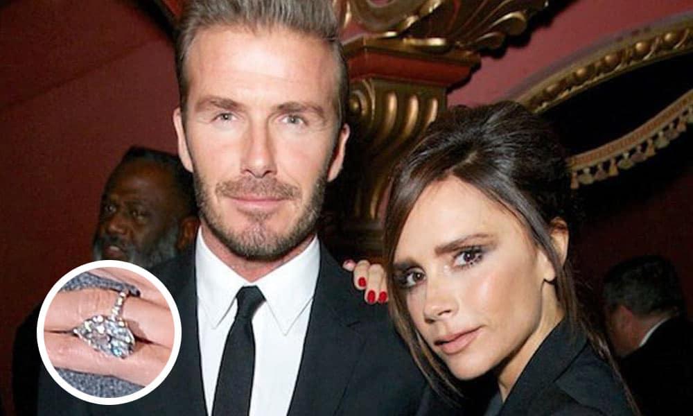 Anillo de compromiso Victoria Beckham