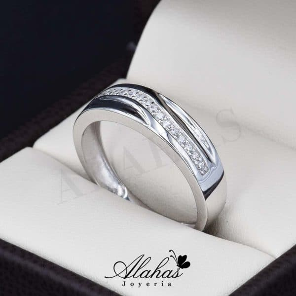 Alianza de boda oro 14k AO-020