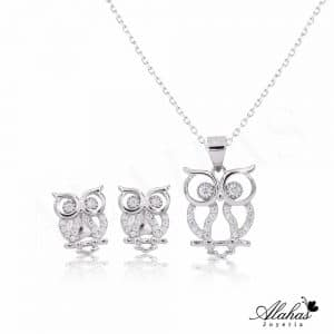 Set en plata 925 con zirconias SP-025