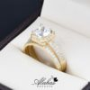 Duo de boda oro 14k Joyeria Alahas do-074