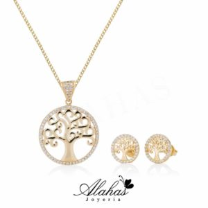 Set en oro 14k SO-009