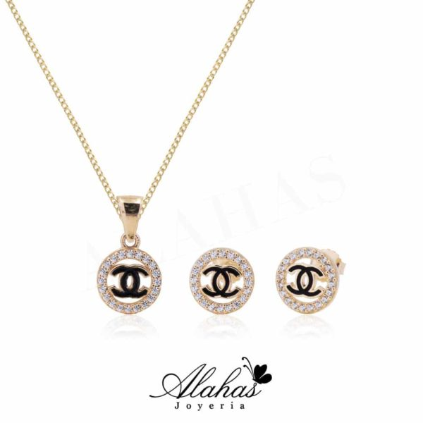Set en oro 14k SO-010