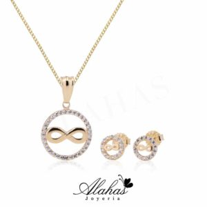 Set en oro 14k SO-011