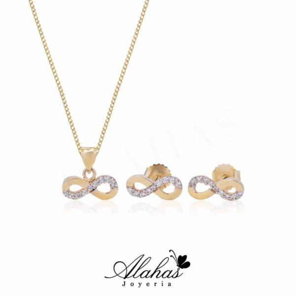 Set en oro 14k SO-012