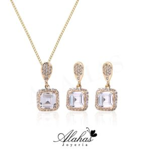 Set en oro 14k SO-013