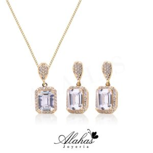 Set en oro 14k SO-014