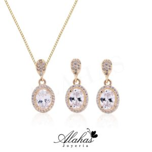 Set en oro 14k SO-015