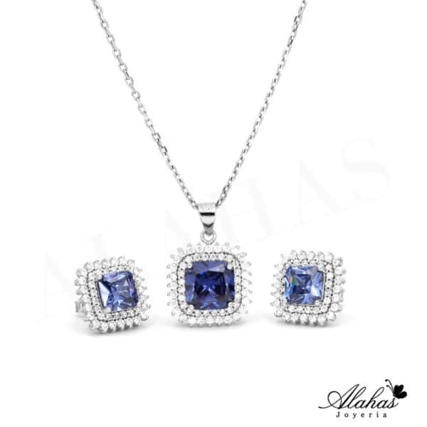 Set en Plata 925 con zirconias SP-026