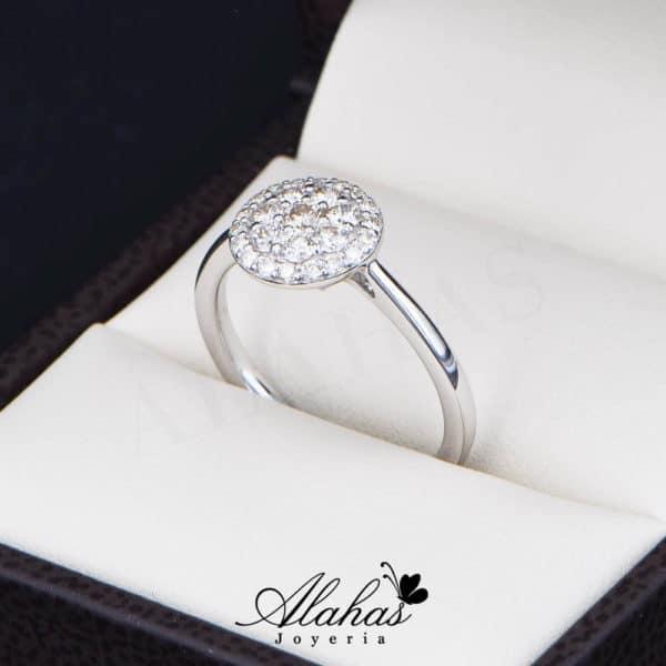 Anillo de Compromiso Oro 14k con diamantes SDIAM-099